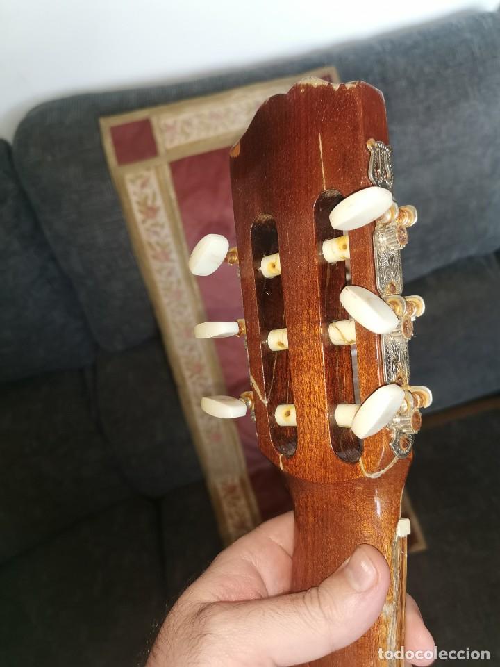 Instrumentos musicales: Mástiles, puente y cuerdas de guitarras clásicas - Foto 3 - 252477025