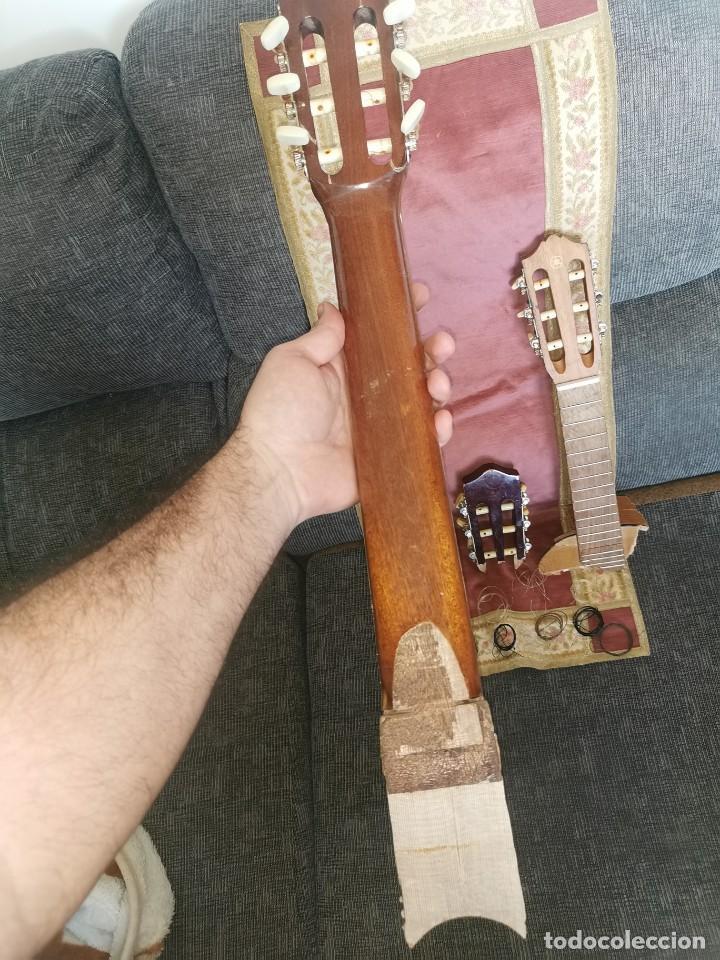 Instrumentos musicales: Mástiles, puente y cuerdas de guitarras clásicas - Foto 4 - 252477025