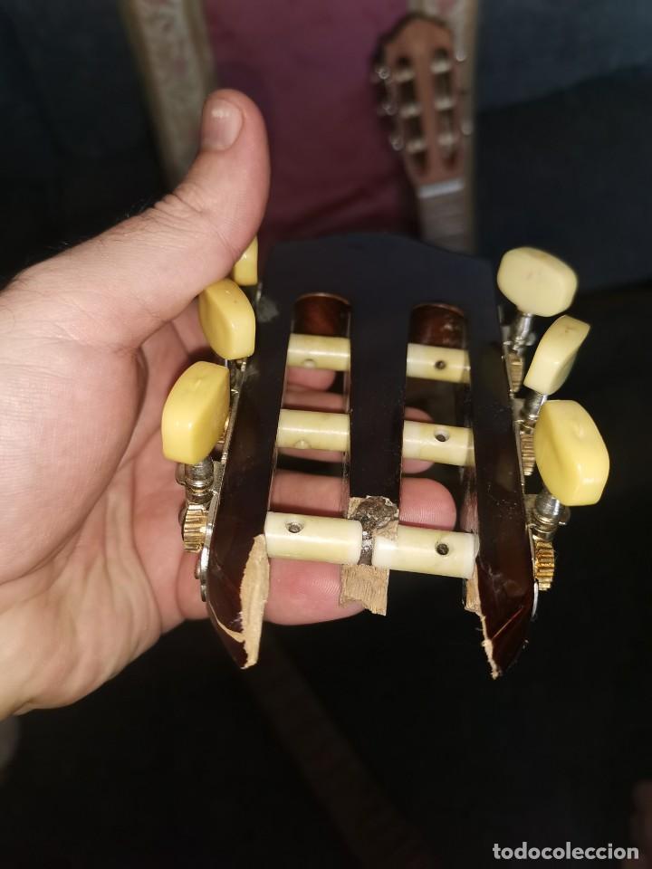 Instrumentos musicales: Mástiles, puente y cuerdas de guitarras clásicas - Foto 6 - 252477025