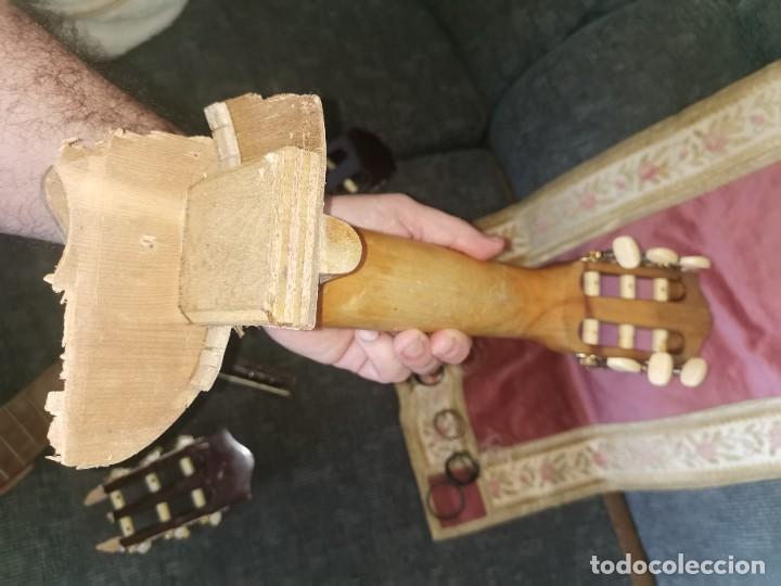 Instrumentos musicales: Mástiles, puente y cuerdas de guitarras clásicas - Foto 11 - 252477025