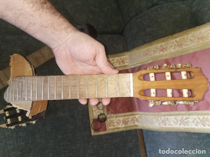 Instrumentos musicales: Mástiles, puente y cuerdas de guitarras clásicas - Foto 13 - 252477025