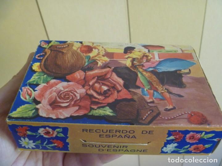 Instrumentos musicales: CASTAÑUELAS ARTESANAS EN CAJA DE LOS 60 - Foto 2 - 252792725