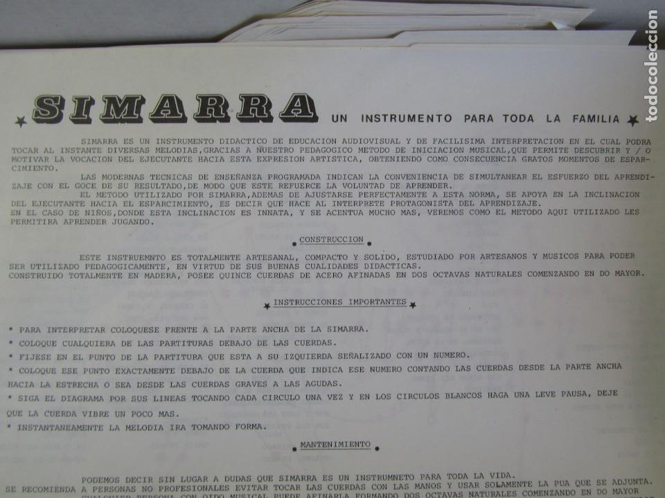 Instrumentos musicales: Arpa musical didáctica Simarra - Foto 2 - 252794195