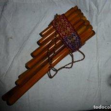 Instrumentos musicales: INSTRUMENTO ANDINO ZAMPOÑA. Lote 252827225