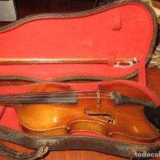 Instruments Musicaux: VIOLIN MUY ANTIGUO DESCONOZCO FABRICANTE,MUY BUEN ESTADO,BARATO. Lote 252942200