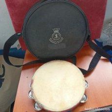 Instrumentos musicales: PANDERETA GALLEGA CON BOLSA EJÉRCITO DE SALVACIÓN. Lote 253099385