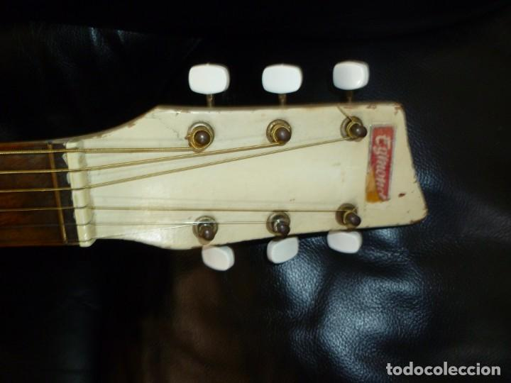 Instrumentos musicales: Antigua guitarra jazz holandesa Egmond - Foto 7 - 253148155