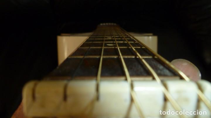 Instrumentos musicales: Antigua guitarra jazz holandesa Egmond - Foto 12 - 253148155