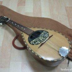 Instrumentos musicales: PRECIOSA MANDOLINA DICK ABDOMINAL 64 CM CON FUNDA. Lote 253348980