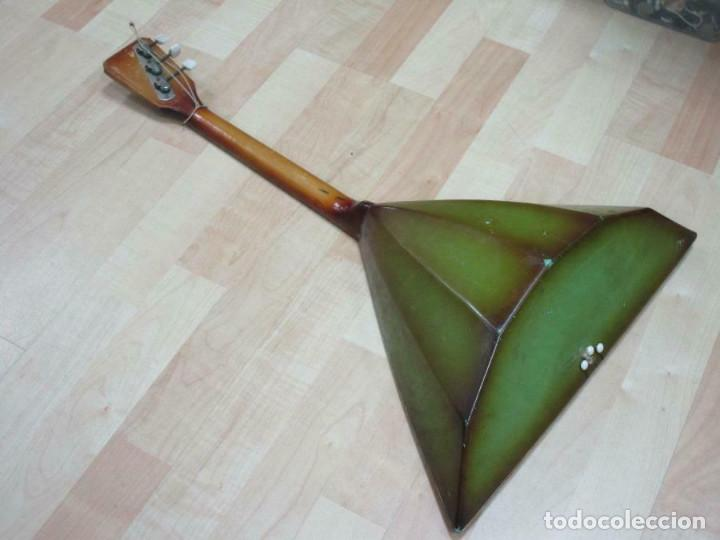 Instrumentos musicales: ANTIGUA BALALAICA RUSA , 3 cuerdas, madera, aprox. 67 cm - Foto 3 - 253360845