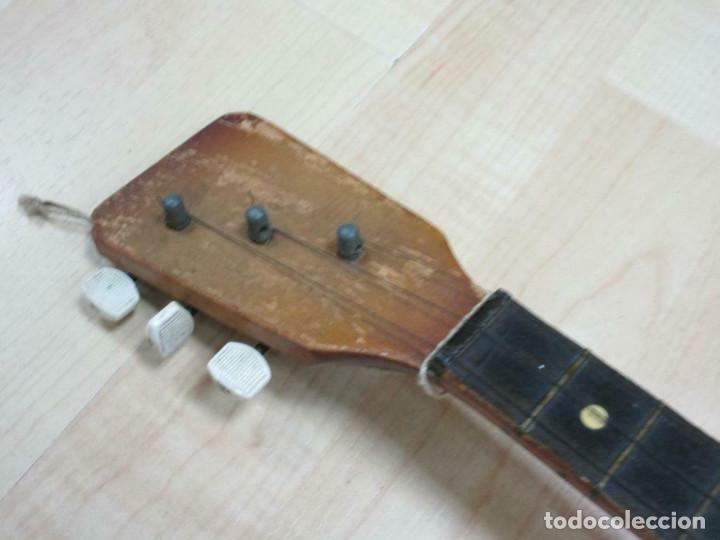 Instrumentos musicales: ANTIGUA BALALAICA RUSA , 3 cuerdas, madera, aprox. 67 cm - Foto 4 - 253360845