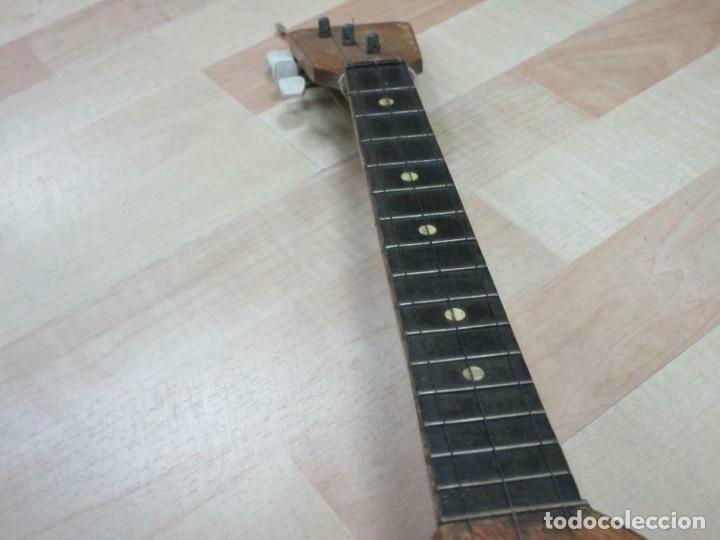 Instrumentos musicales: ANTIGUA BALALAICA RUSA , 3 cuerdas, madera, aprox. 67 cm - Foto 5 - 253360845