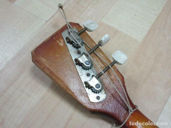 Instrumentos musicales: ANTIGUA BALALAICA RUSA , 3 cuerdas, madera, aprox. 67 cm - Foto 6 - 253360845