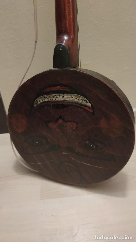 Instrumentos musicales: BANJO ANTIGUO, A RESTAURAR. UNOS 60 AÑOS. SE ENTREGA EN MANO BCN - Foto 2 - 253531950