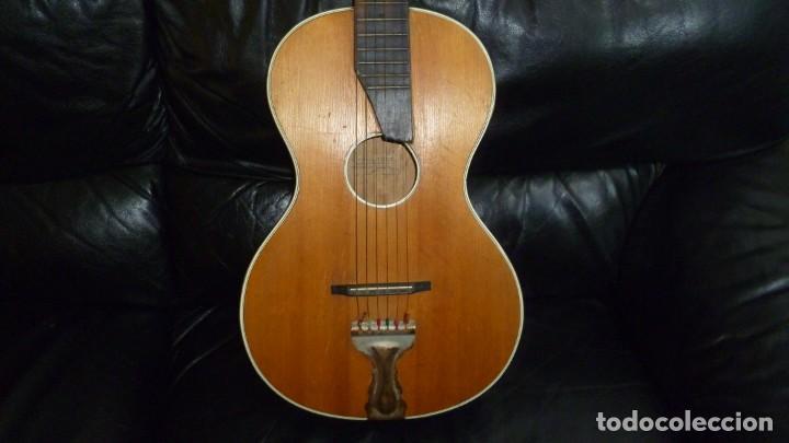 GUITARRA CENTENARIA ALEMANA E. PAUL TODT (Música - Instrumentos Musicales - Guitarras Antiguas)
