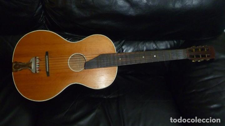 Instrumentos musicales: Guitarra centenaria alemana E. Paul Todt - Foto 2 - 253555795