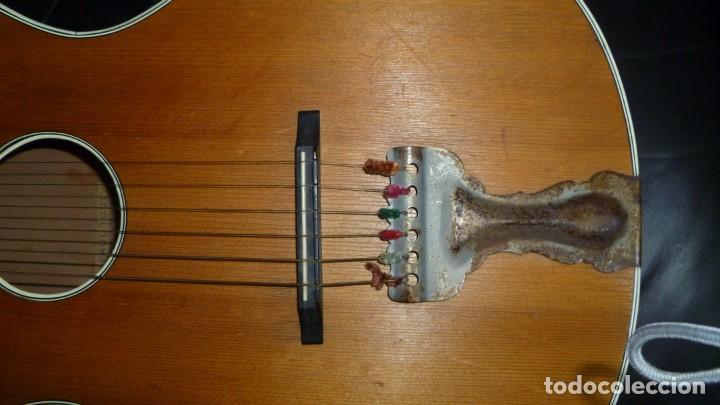 Instrumentos musicales: Guitarra centenaria alemana E. Paul Todt - Foto 4 - 253555795