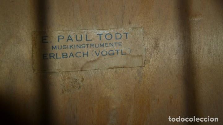 Instrumentos musicales: Guitarra centenaria alemana E. Paul Todt - Foto 5 - 253555795