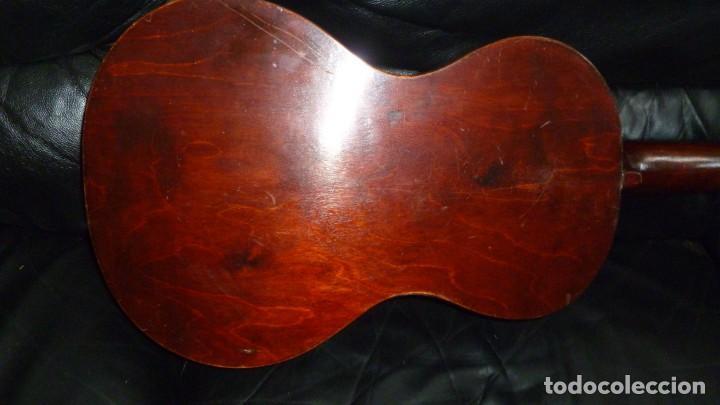 Instrumentos musicales: Guitarra centenaria alemana E. Paul Todt - Foto 6 - 253555795