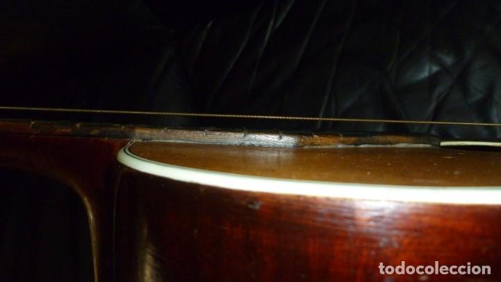 Instrumentos musicales: Guitarra centenaria alemana E. Paul Todt - Foto 9 - 253555795