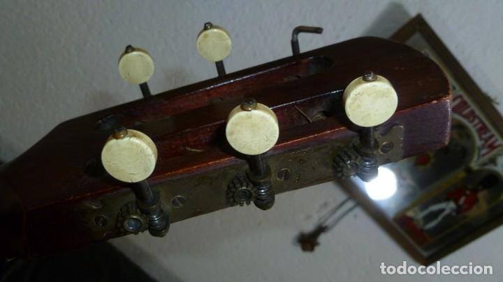 Instrumentos musicales: Guitarra centenaria alemana E. Paul Todt - Foto 10 - 253555795