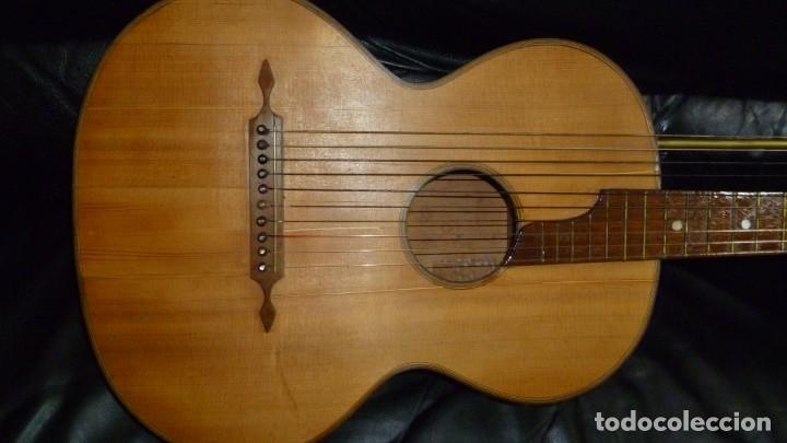 Instrumentos musicales: Contraguitarra austriaca más de 100 años - Foto 3 - 253557795