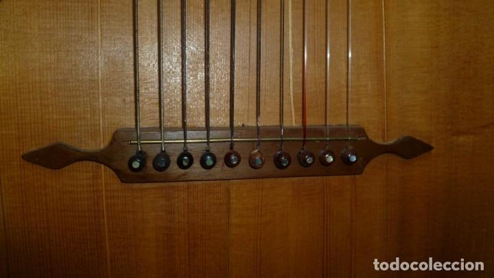 Instrumentos musicales: Contraguitarra austriaca más de 100 años - Foto 6 - 253557795