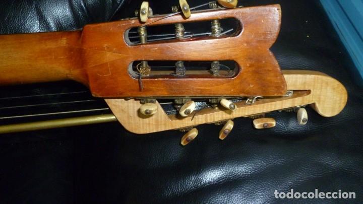 Instrumentos musicales: Contraguitarra austriaca más de 100 años - Foto 9 - 253557795