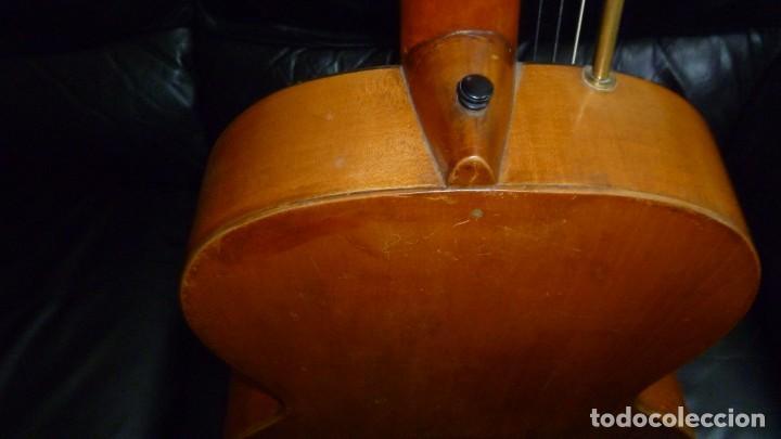 Instrumentos musicales: Contraguitarra austriaca más de 100 años - Foto 10 - 253557795