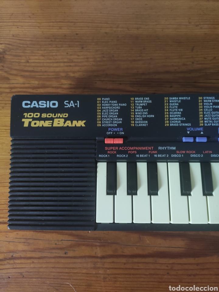 Instrumentos musicales: Casio Tone Bank SA-1 Teclado - Foto 2 - 253773920
