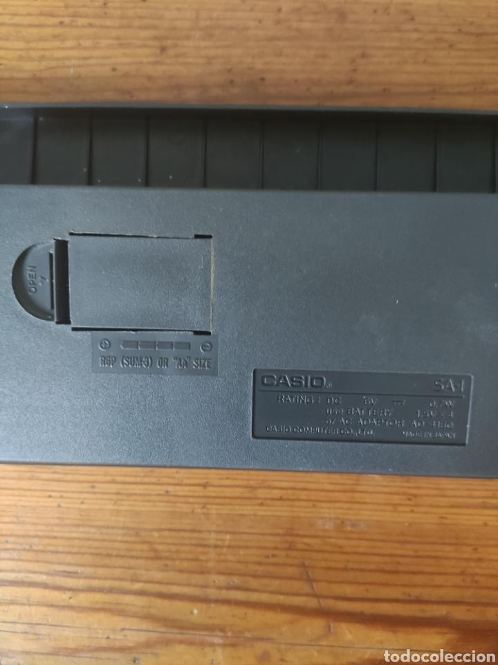 Instrumentos musicales: Casio Tone Bank SA-1 Teclado - Foto 5 - 253773920