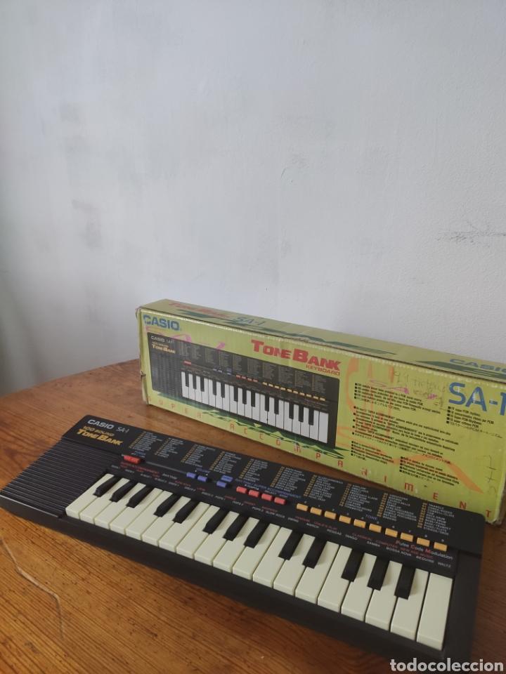 Instrumentos musicales: Casio Tone Bank SA-1 Teclado - Foto 7 - 253773920