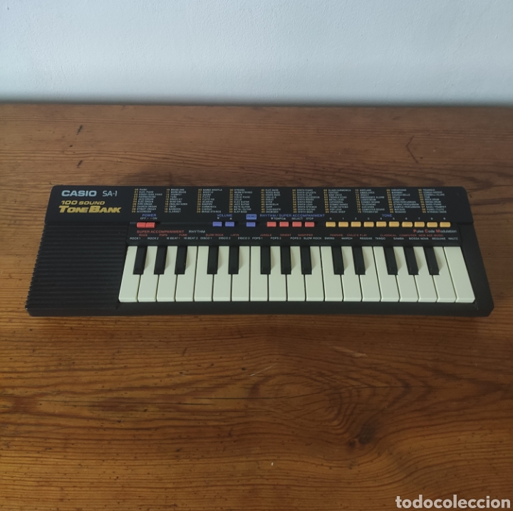 CASIO TONE BANK SA-1 TECLADO (Música - Instrumentos Musicales - Teclados Eléctricos y Digitales)