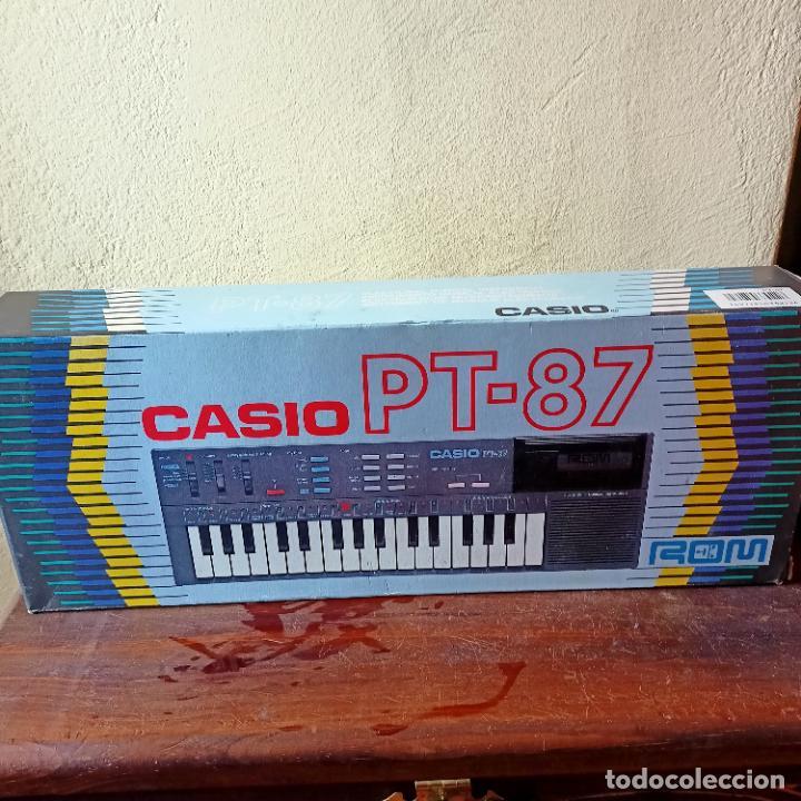 Instrumentos musicales: Casio PT-87 nuevo a estrenar Rom Pack vintage Electronic Keyboard / teclado - Foto 2 - 253813270