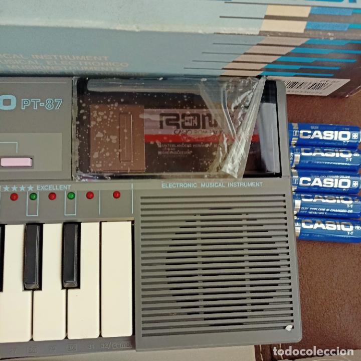 Instrumentos musicales: Casio PT-87 nuevo a estrenar Rom Pack vintage Electronic Keyboard / teclado - Foto 3 - 253813270