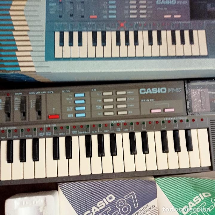 Instrumentos musicales: Casio PT-87 nuevo a estrenar Rom Pack vintage Electronic Keyboard / teclado - Foto 4 - 253813270