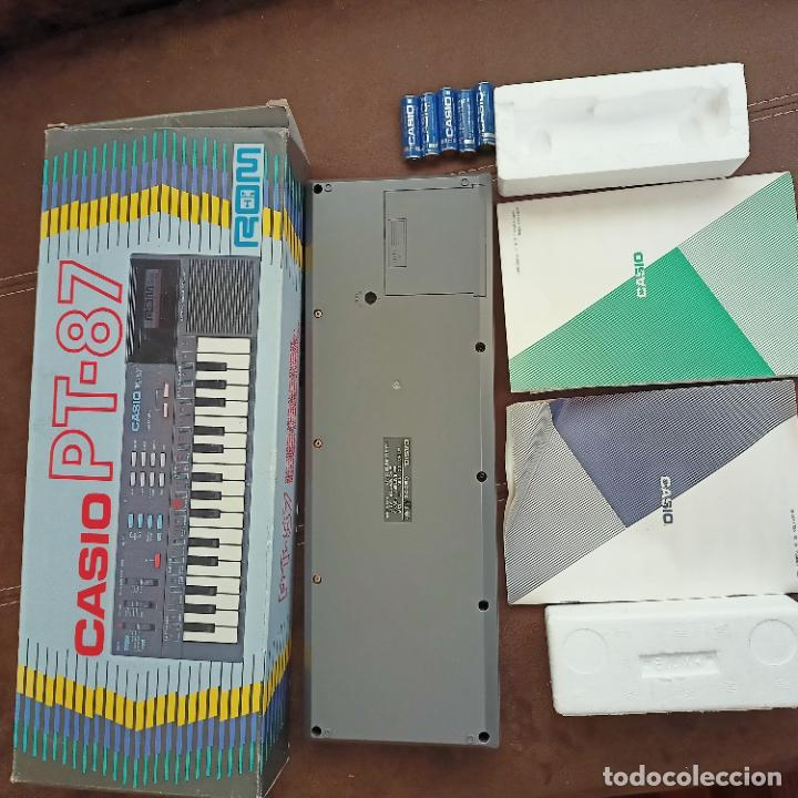 Instrumentos musicales: Casio PT-87 nuevo a estrenar Rom Pack vintage Electronic Keyboard / teclado - Foto 5 - 253813270