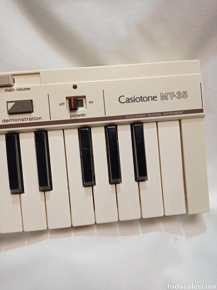 Instrumentos musicales: TECLADO CASIO AÑOS 80 CASIOTONE MT-35 FUNCIONANDO PERFECTAMENTE - Foto 5 - 253923345