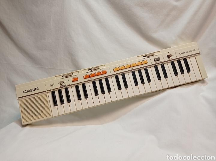 TECLADO CASIO AÑOS 80 CASIOTONE MT-35 FUNCIONANDO PERFECTAMENTE (Música - Instrumentos Musicales - Teclados Eléctricos y Digitales)