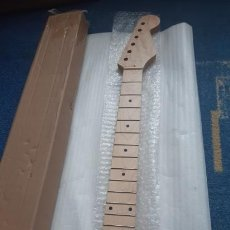 Instrumentos musicales: MASTIL GUITARRA ELECTRICA PROYECTO FENDER STRATOCASTER. Lote 253941170