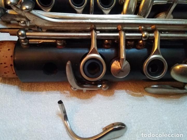 Instrumentos musicales: CLARINETE J. MICHAEL CON MALETÍN Y ACCESORIOS ( BOQUILLA VANDOREN POR EJEMPLO ) LOTE CON DEFECTOS - Foto 6 - 254194090
