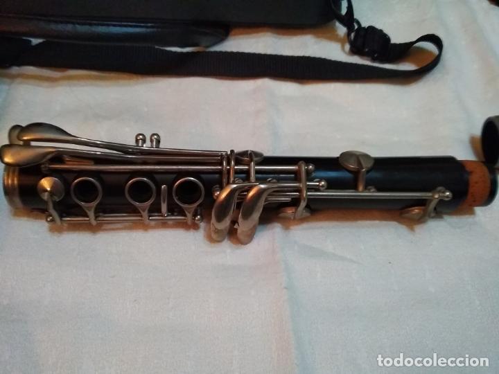 Instrumentos musicales: CLARINETE J. MICHAEL CON MALETÍN Y ACCESORIOS ( BOQUILLA VANDOREN POR EJEMPLO ) LOTE CON DEFECTOS - Foto 9 - 254194090