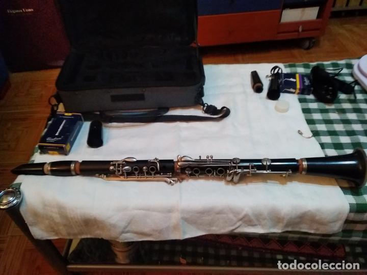 Instrumentos musicales: CLARINETE J. MICHAEL CON MALETÍN Y ACCESORIOS ( BOQUILLA VANDOREN POR EJEMPLO ) LOTE CON DEFECTOS - Foto 14 - 254194090