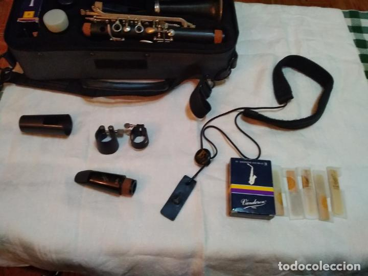 Instrumentos musicales: CLARINETE J. MICHAEL CON MALETÍN Y ACCESORIOS ( BOQUILLA VANDOREN POR EJEMPLO ) LOTE CON DEFECTOS - Foto 15 - 254194090
