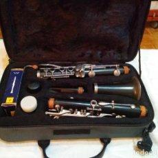Instrumentos musicales: CLARINETE J. MICHAEL CON MALETÍN Y ACCESORIOS ( BOQUILLA VANDOREN POR EJEMPLO ) LOTE CON DEFECTOS. Lote 254194090
