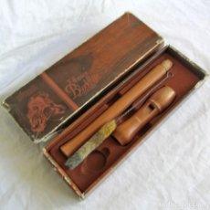 Instrumentos Musicais: FLAUTA DULCE HOHNER DE MADERA. Lote 254210005
