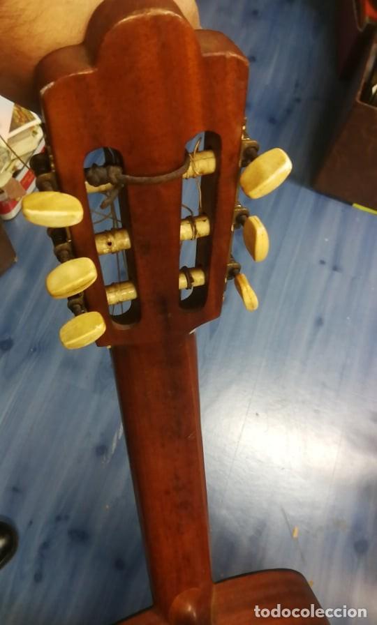 Instrumentos musicales: IMPRESIONANTE GUITARRA ESPANOLA ANTIGUA. FUNCIONA - Foto 3 - 254218895