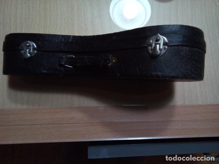 Instrumentos musicales: MANDOLINA EN MINIATURA CON ESTUCHE.20 CM. (Rf :VG/e) - Foto 6 - 254734120