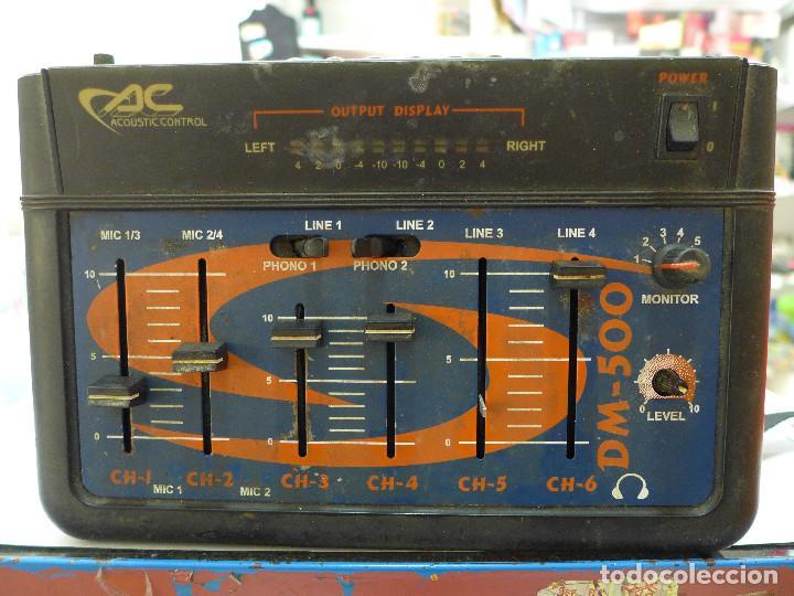 MESA DE MEZCLAS ACOUSTIC CONTROL DM-500 (Música - Instrumentos Musicales - Accesorios)