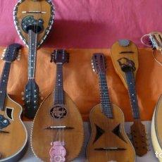 Instrumentos musicales: LOTE DE 6 MANDOLINAS CENTENARIAS. Lote 254769890